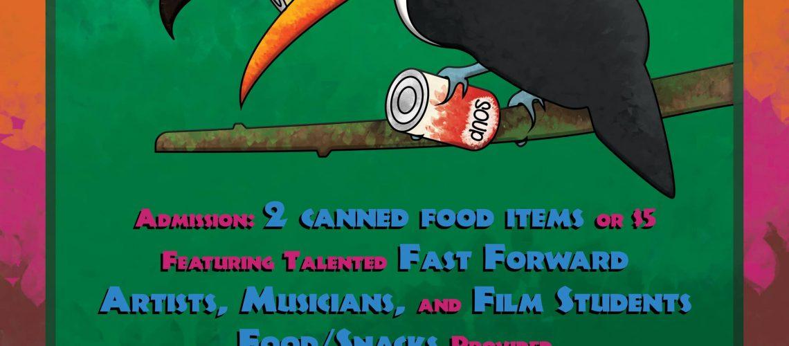 Canned Food Drive Kick Off - FFCHS - RGB